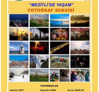 Mezitli'de Yaşam Fotoğraf Sergisi
